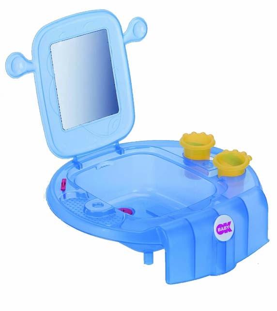 Mini Waschbecken Space Blau