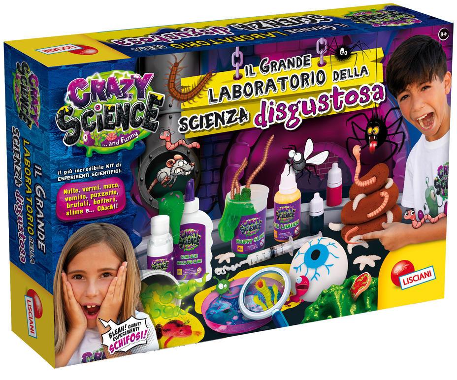 Il Grande Laboratorio di Scienza Disgustosa