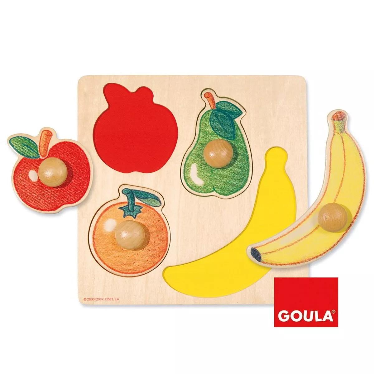 Puzzle in legno - Frutta