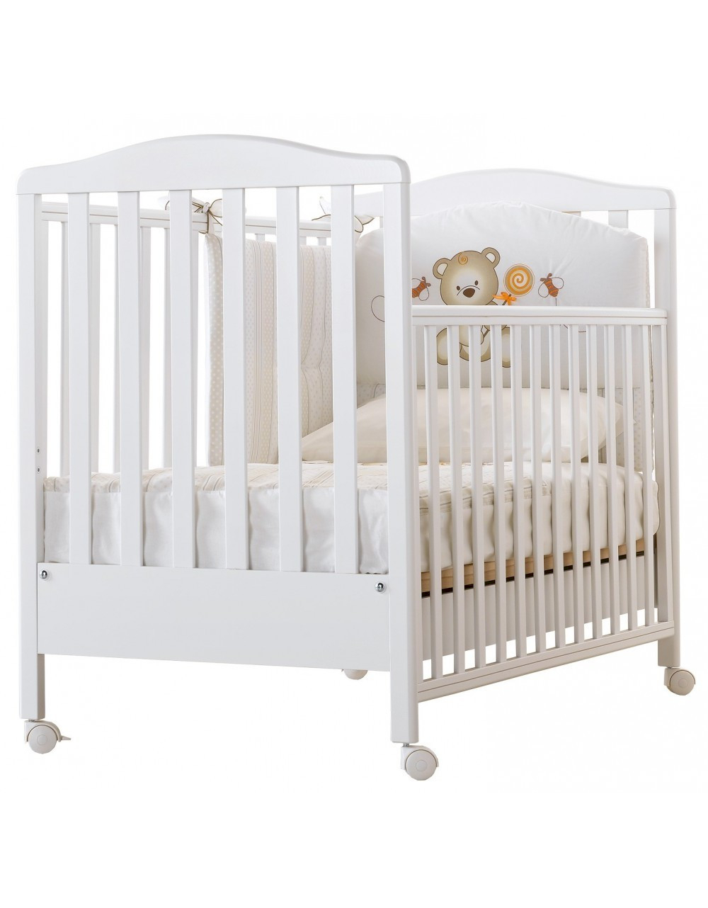 Babybett Web Weiß