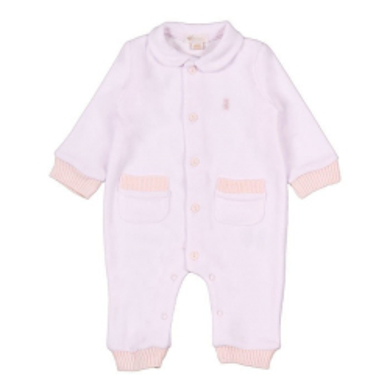 Pyjama avec Poches 3 Mois - Rose