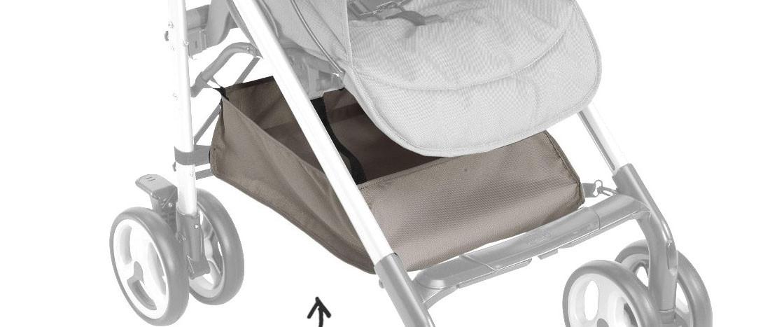 Chicco Sprint Einkaufskorb Dove Grey