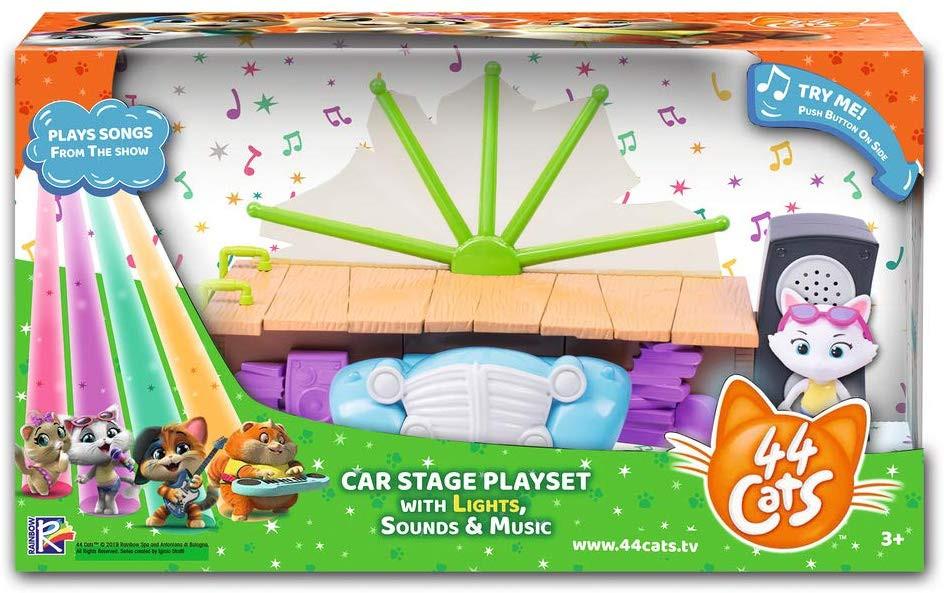 Playset 44 Gatti Automobile Palcoscenico