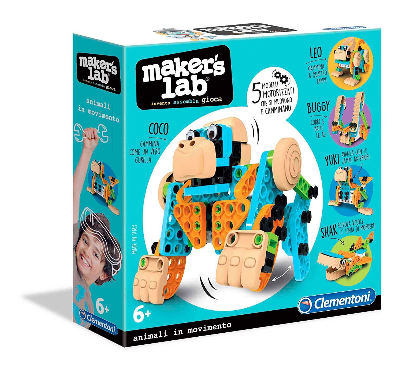 Maker Lab-Animali Clementoni