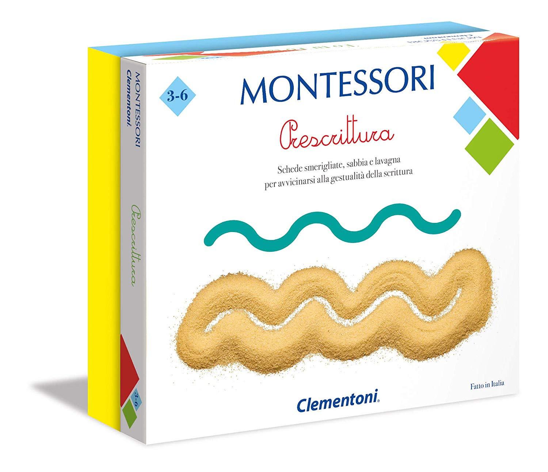 Montessori-Prescrittura Gioco educativo Clementoni