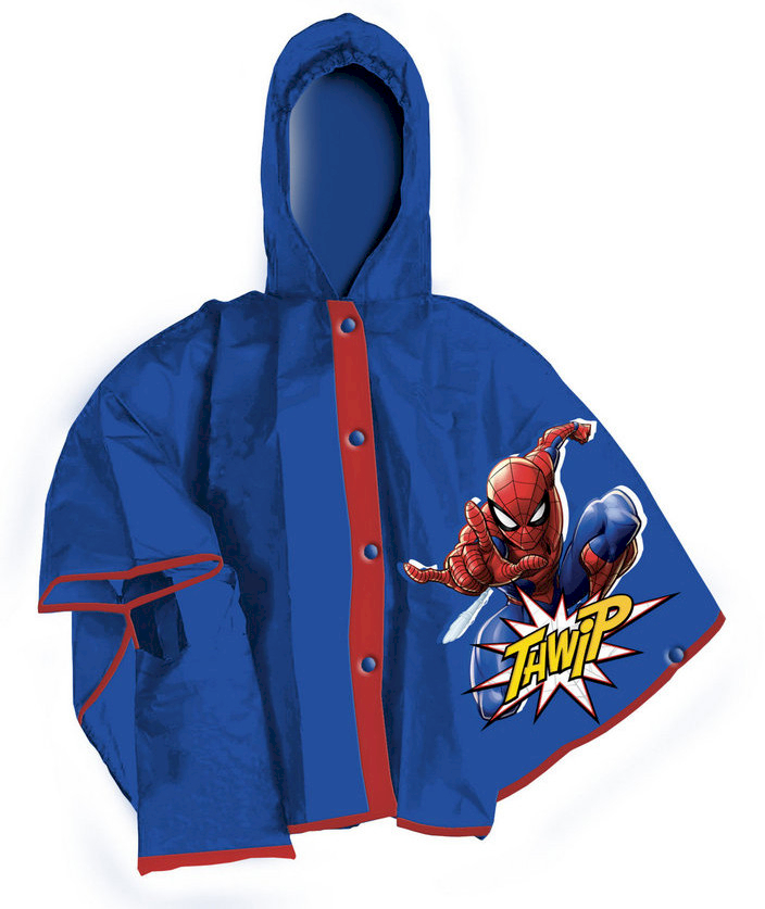 Mantellina Pioggia Spiderman - S