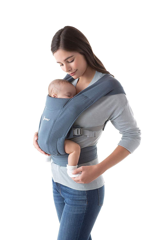 Ergobaby Mochila Porta-bebés Embrace Oxford Blue