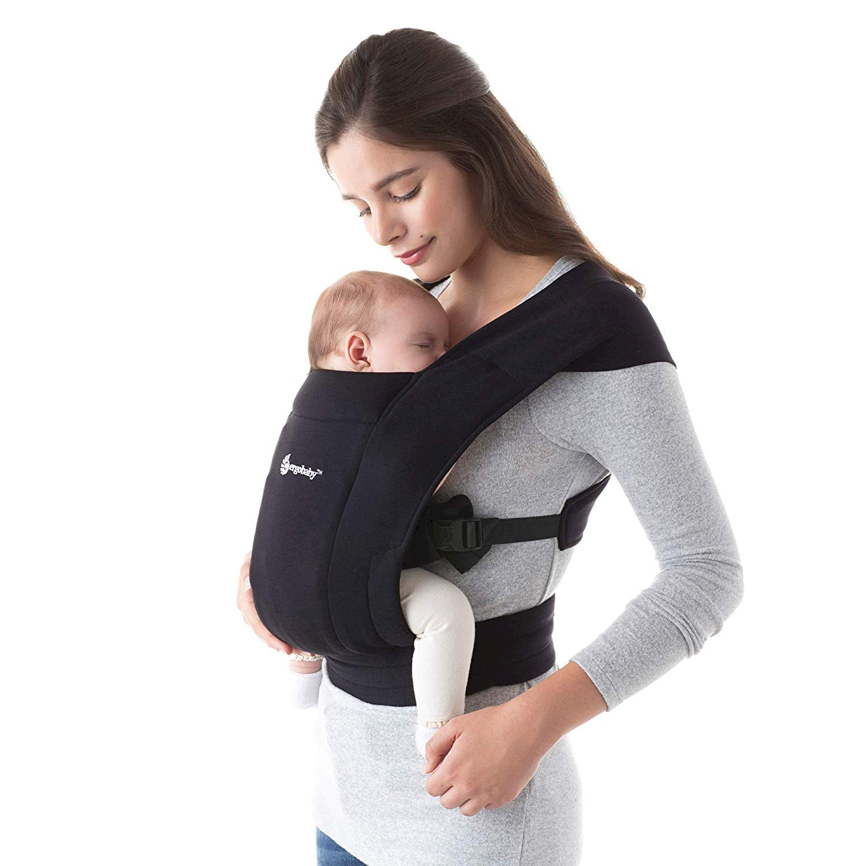 Ergobaby Mochila Porta-bebés Embrace Pure Black