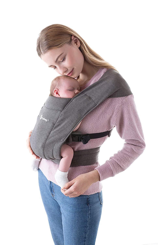 Ergobaby Embrace Neugeborenentrage Heather Grey