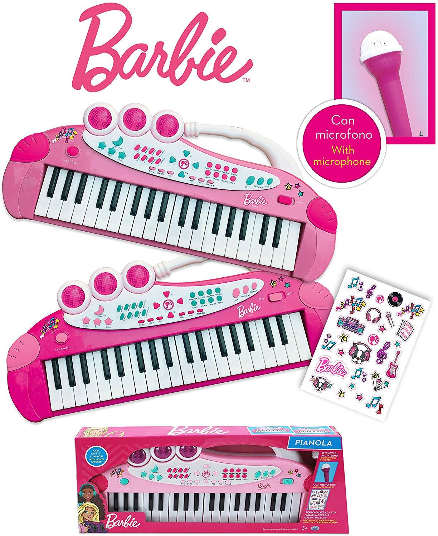 Tastiera con Microfono Barbie
