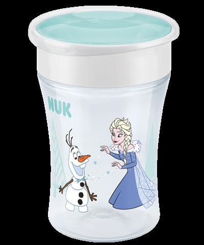 Nuk Tasse Magic Cup - La Reine des Neiges - Bleu Clair