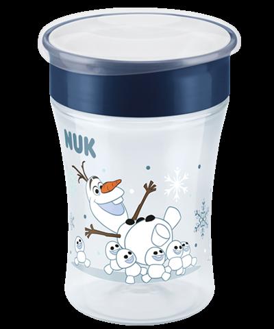 Nuk Tasse Magic Cup - La Reine des Neiges Bleu