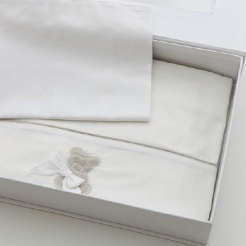 Nanan Kinderbettwäsche Coccolo Weiß