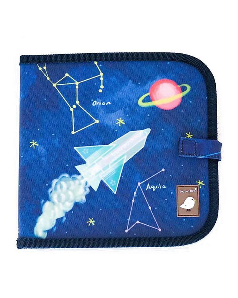 Mehrwegmalbuch Space