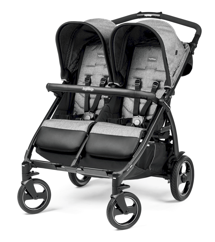 Peg Perego Zwillingskinderwagen Book for Two Class Black