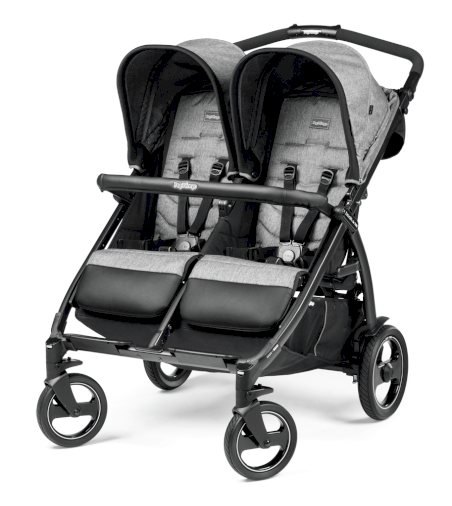 Poussette Double Book For Two Peg Perego Class Black