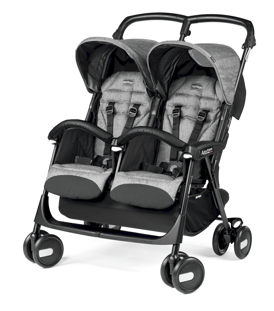 Peg Perego Aria Shopper Twin Cinder