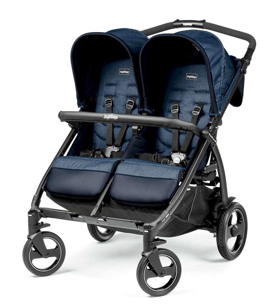 Peg Perego Zwillingskinderwagen Book for Two Class Beige