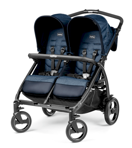 Poussette Double Book For Two Peg Perego Class Beige