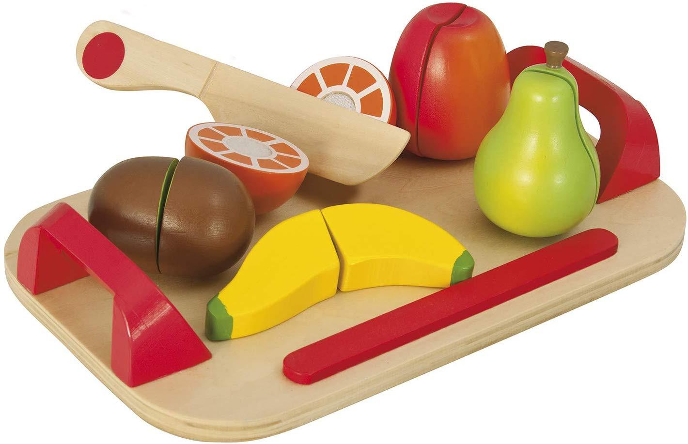 Tranchoir avec fruits en Bois