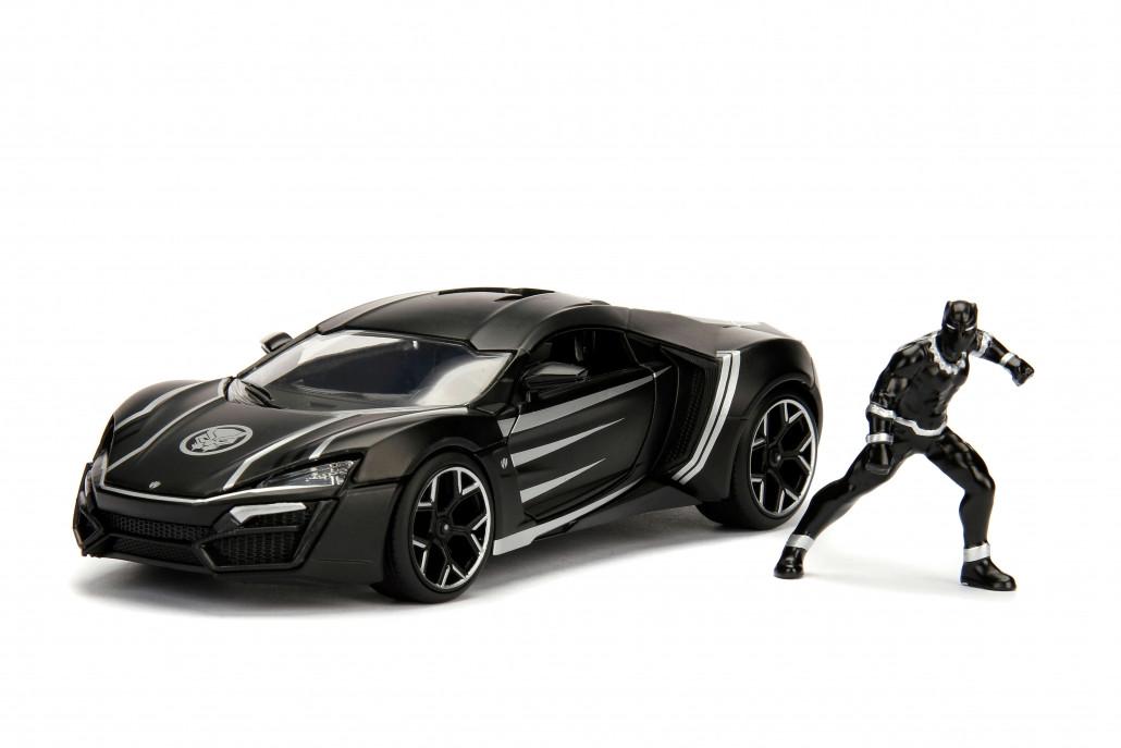 Black Panther & Lykan Hypersport