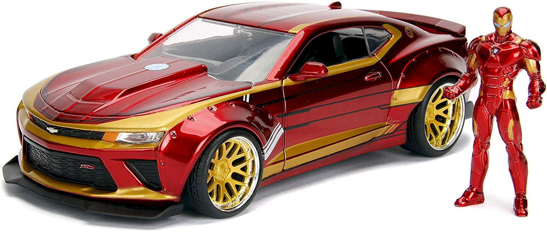 Iron Man & Chevrolet Camaro
