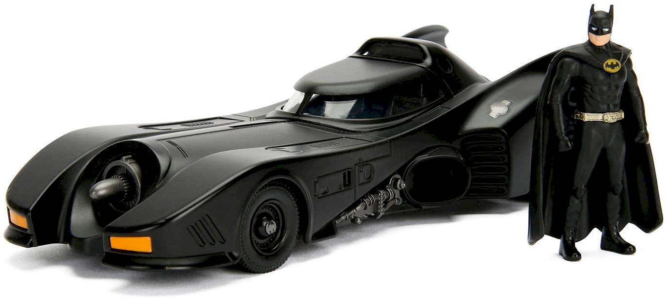 Batman & Batmobile 1989