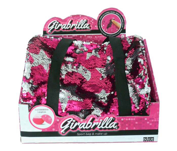 Girabrilla Sport Bag & Make Up Rosa