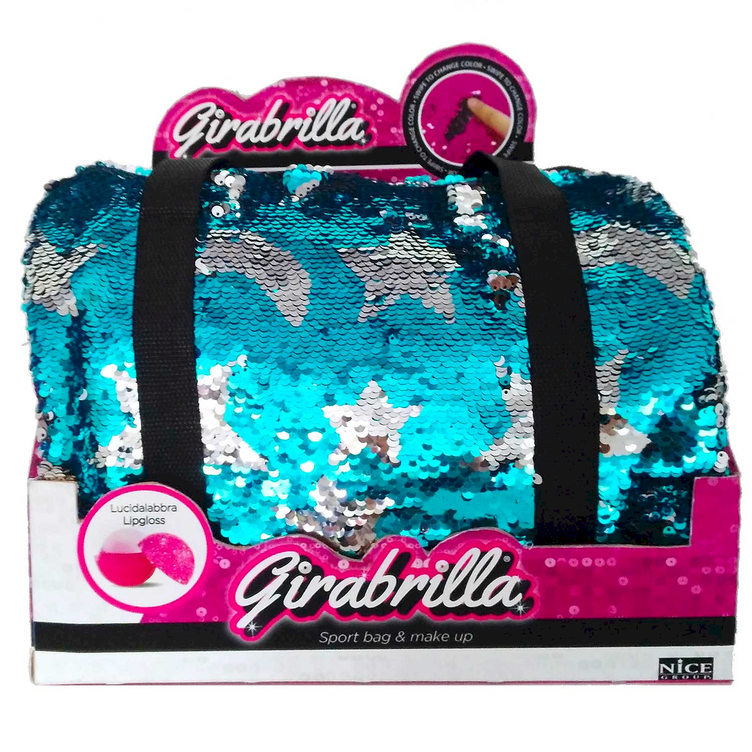 Girabrilla Sport Bag & Make Up Azzurro