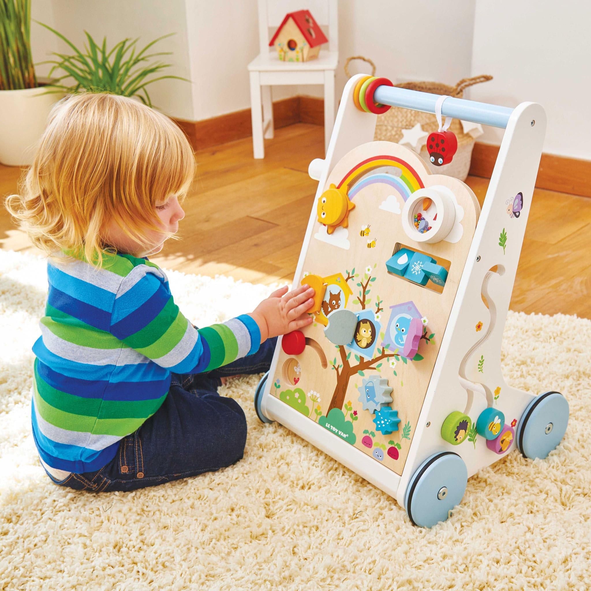 Le Toy Van Aktivitats Und Lauflernwagen