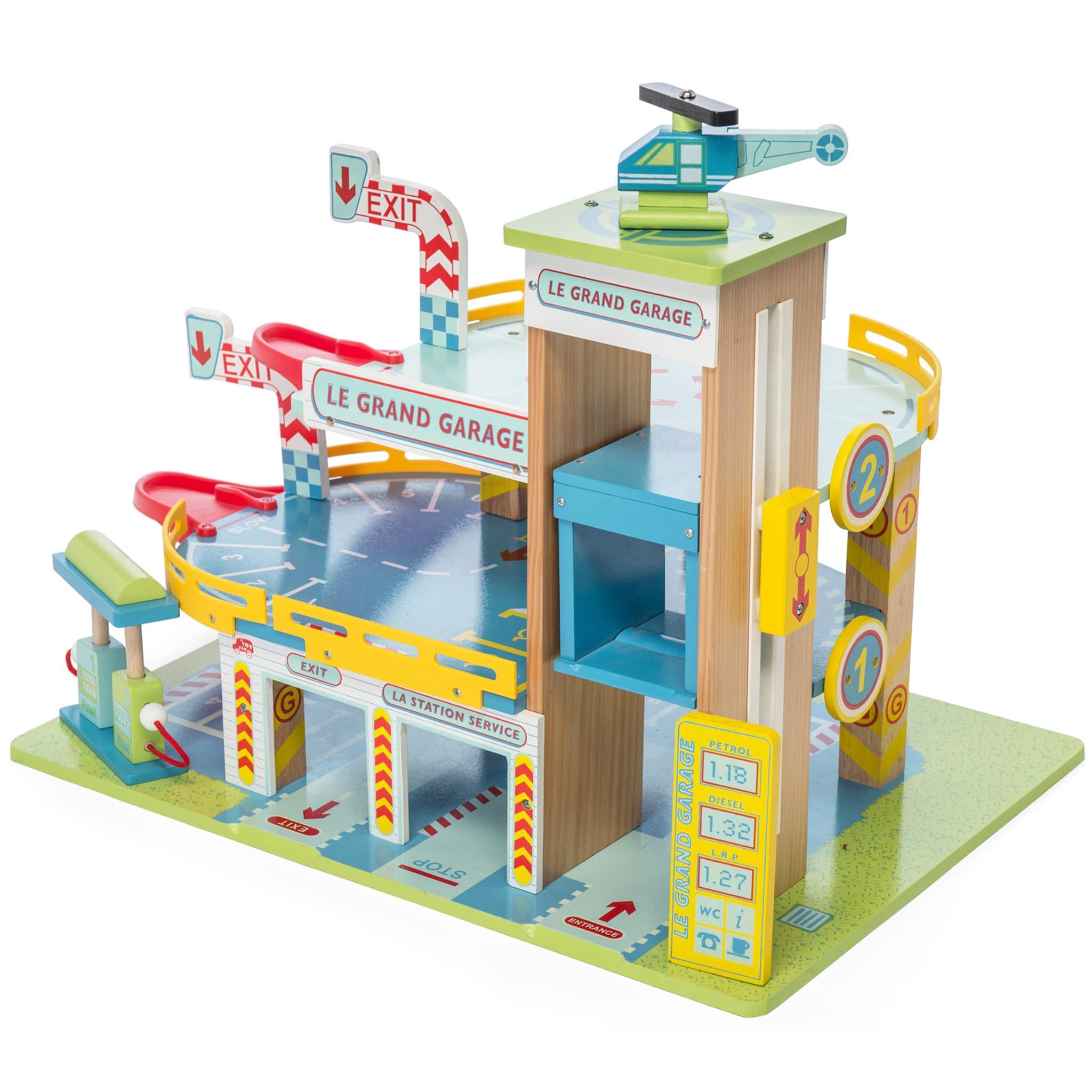Le Toy Van Garaje de madera