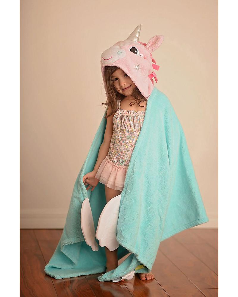 Asciugamano Con Cappuccio Unicorno