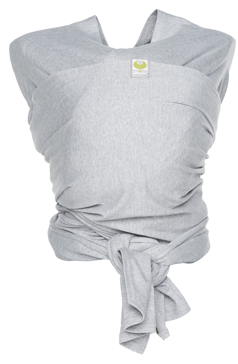 ByKay Stretchy Fulár Deluxe Grey Melese