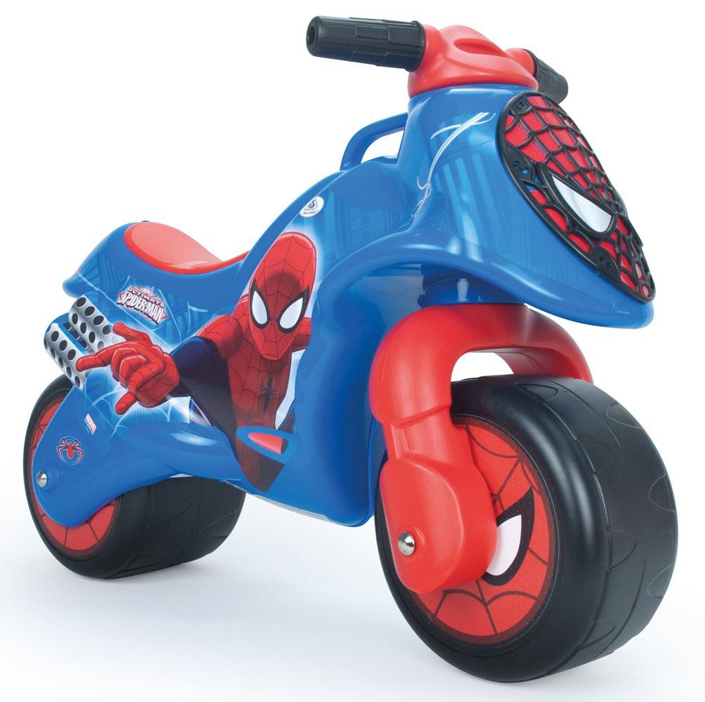 Porteur bébé Moto Spiderman