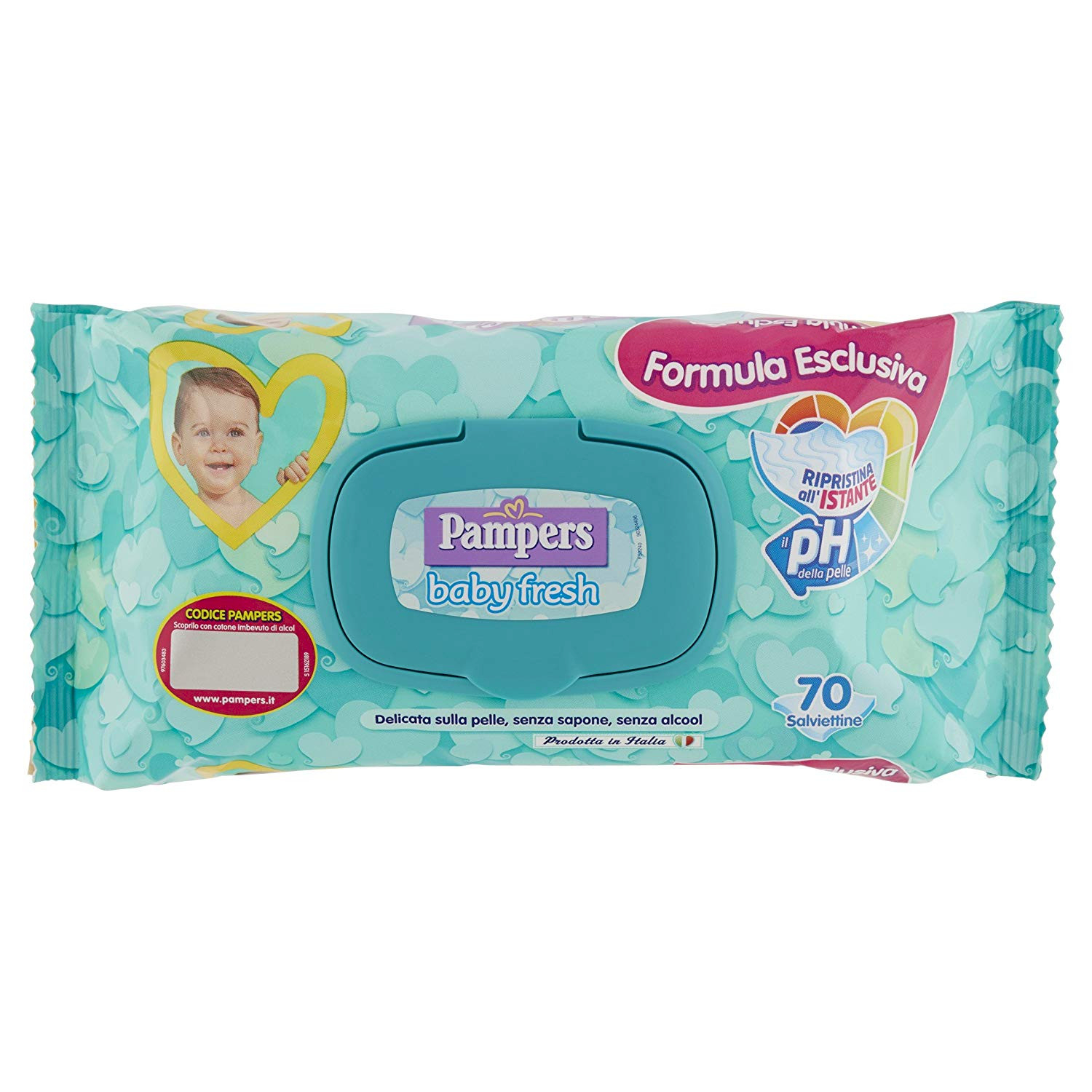 Salviettine Pampers Baby Fresh