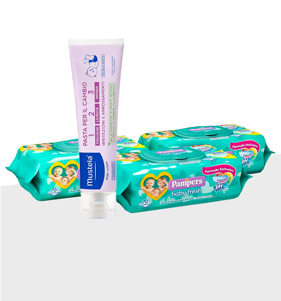 Special Pack Pampers - Pour le change