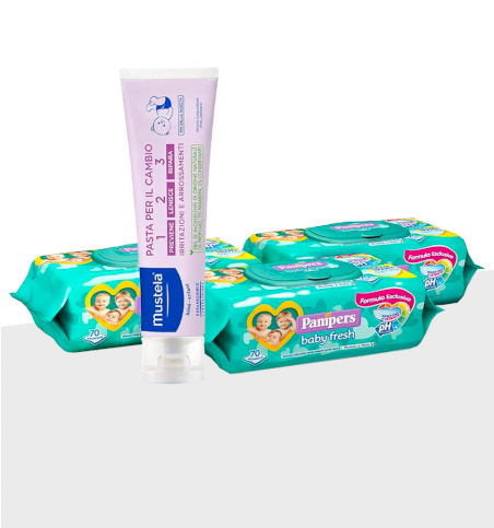 Special Pack Pampers - Cambio Pannolino