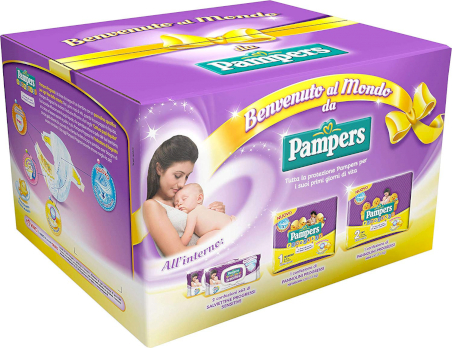 Kit de Bienvenu - Pampers Progessi