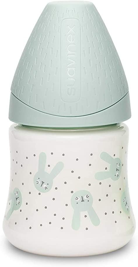 Biberón Hygge Baby - Flujo Lento 120 ml Verde