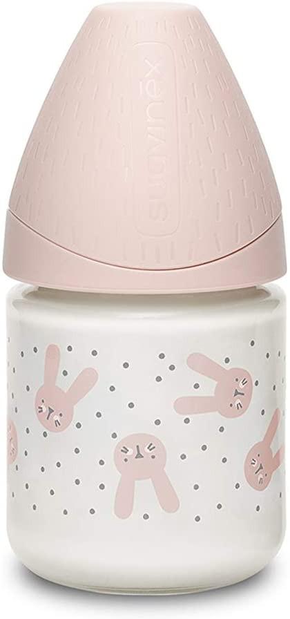 Biberon Hygge Baby Coniglio Pois Rosa - Flusso Lento 120 ml