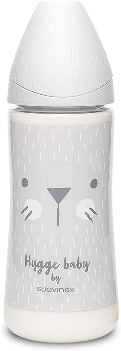 Biberon Hygge Baby - Flux Dense 360 ml Blanc