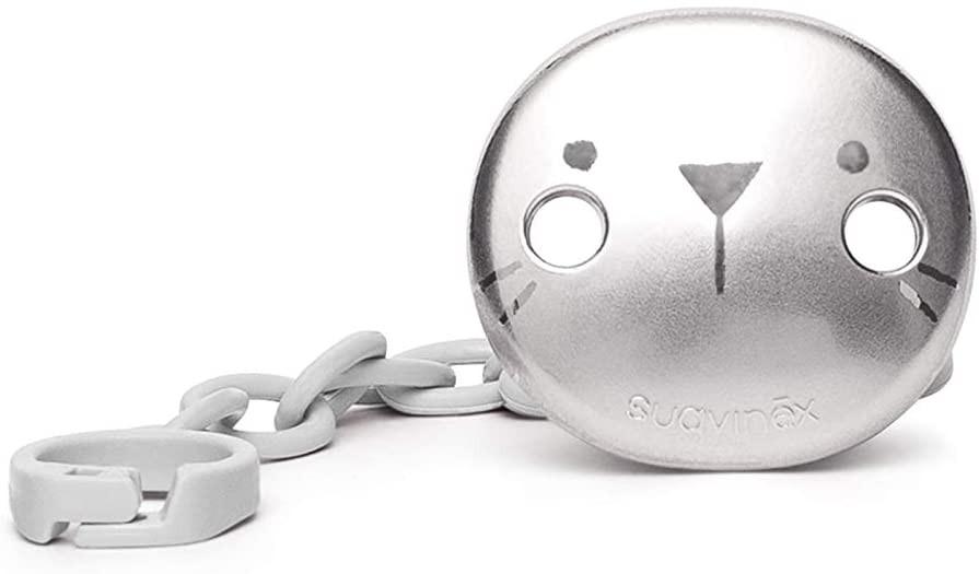 Catenella Portaciuccio Suavinex Hygge Baby Metallizzata Ghiaccio