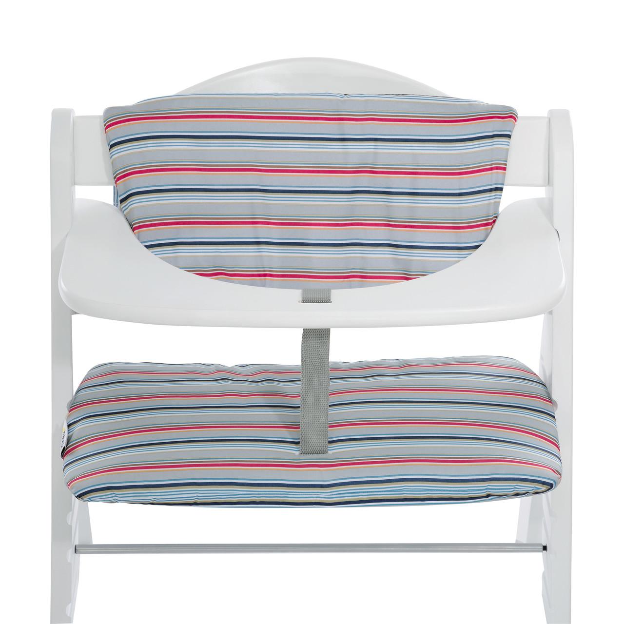 Cuscino per Seggiolone Hauck Stripe Grey