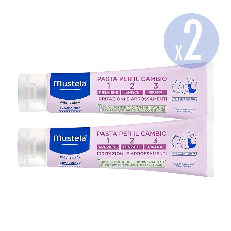 Mustela Crème change 123 - 150 ml - 3 Paquets