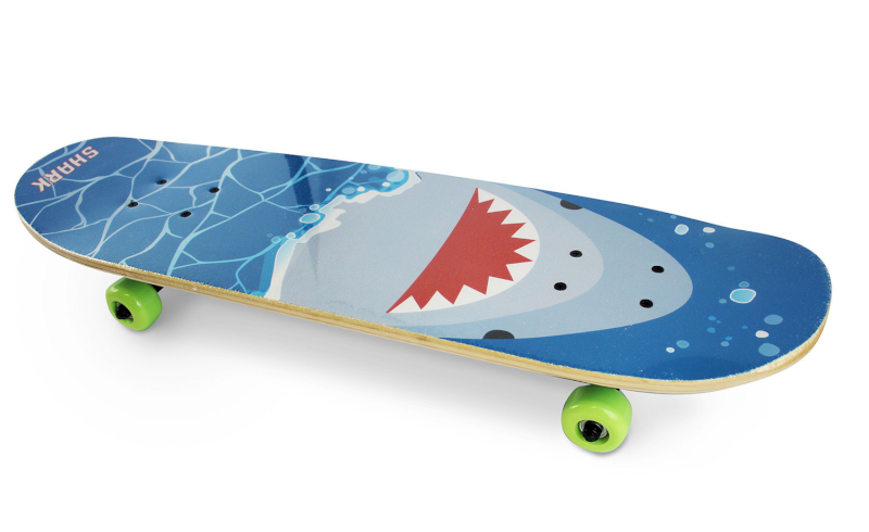 Skateboard Shark Attack