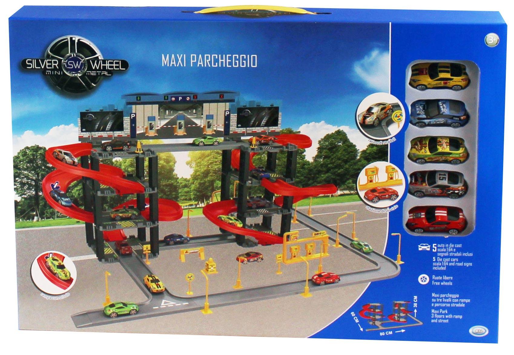 Maxi Parcheggio Silver Wheel