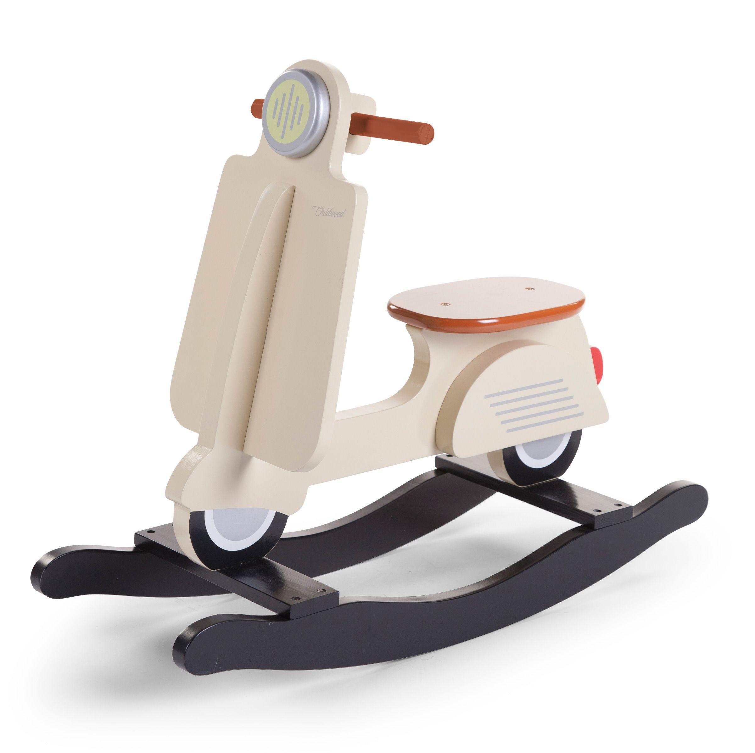 Vespa Scooter à Bascule Blanc