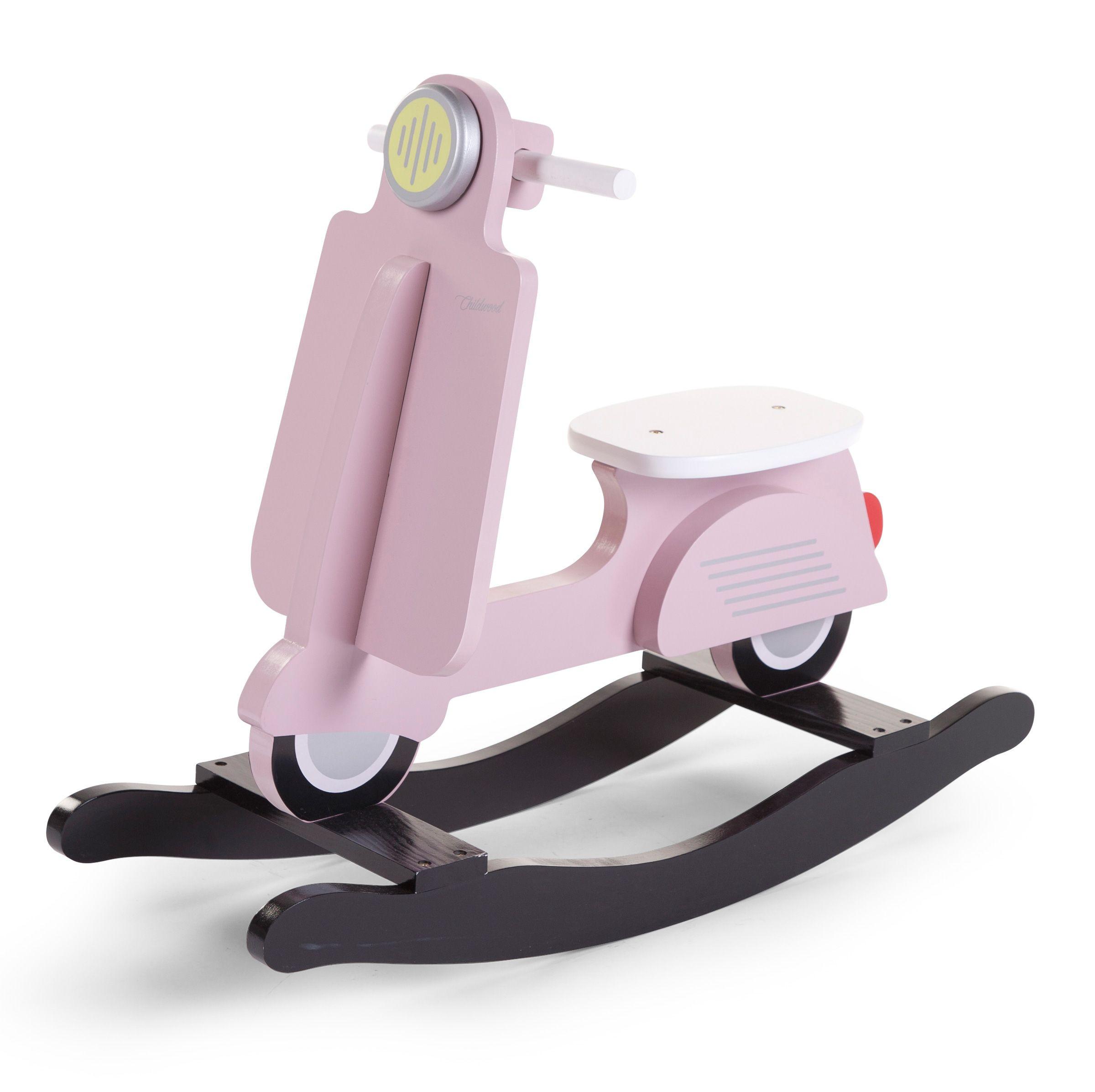 Vespa Scooter à Bascule Rose