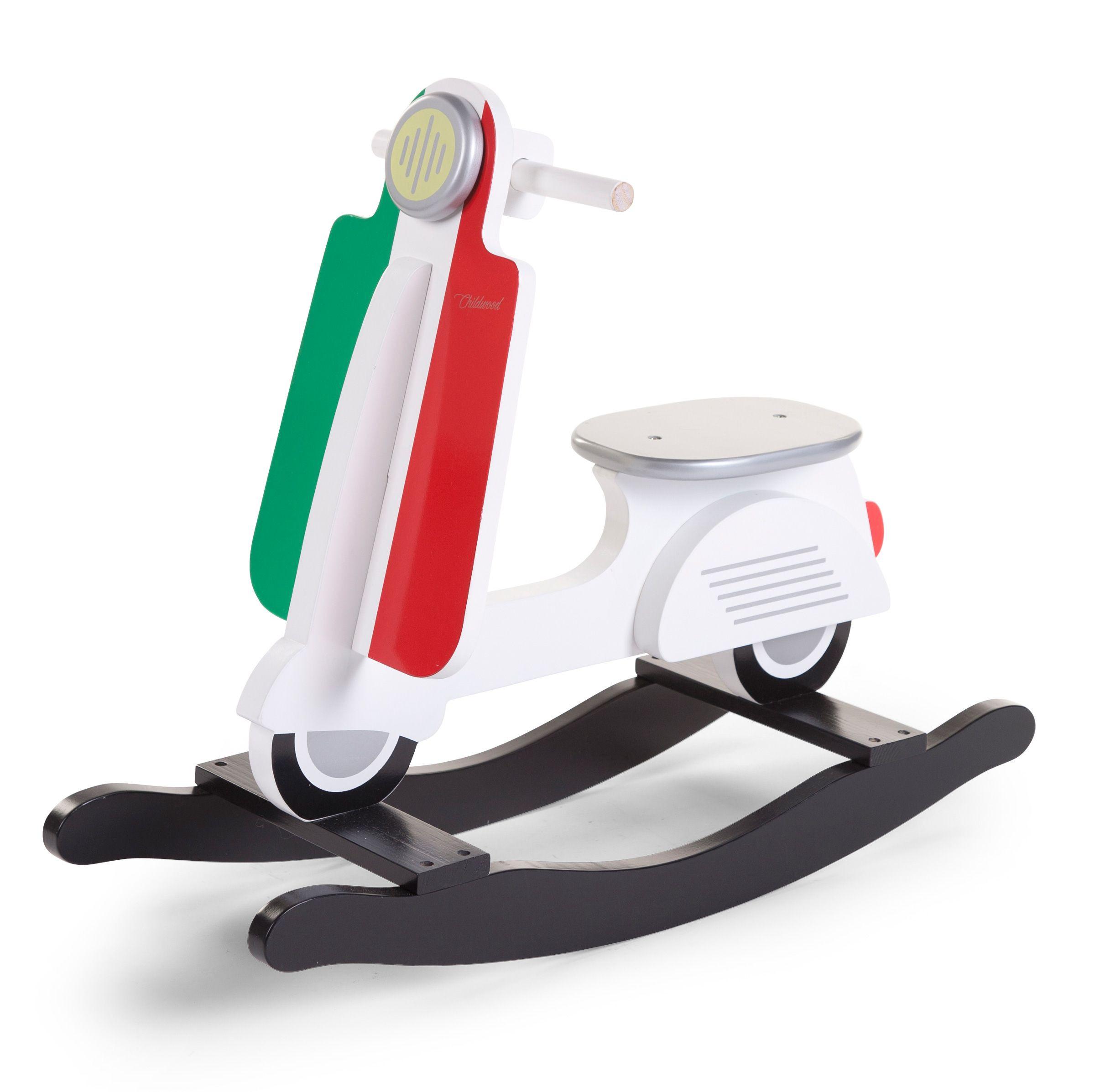 Vespa Scooter à Bascule Italie