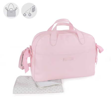 Pasito Pasito Sac à langer Essentials Rose